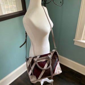 Rebecca Minkoff Leather & Calfhair Bag NWOT